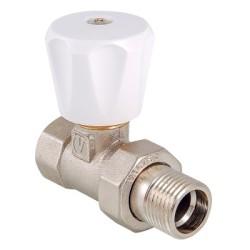 Клапан ручной VALTEC (компактный) для радиатора, прямой
