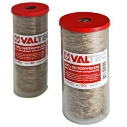 Нить сантехническая льняная VALTEC, для резьбовых соединений (110м)