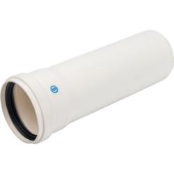 STOUT Элемент дымохода конденсац. труба  250 мм DN80 м/п PP-FE