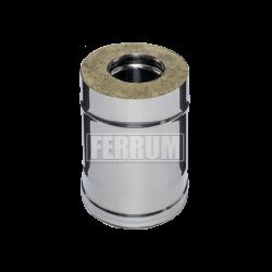 Сэндвич Ferrum 0,25м (430/0,5 мм + оц.) ф130х200