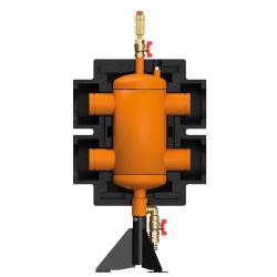 Стрелка 700 кВт 30 м3/час,Ду100 с гидравлическим выравниванием, Victaulic