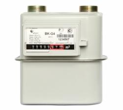Счетчик газа  ВК G- 4 (110 мм) прав. г.Арзамас 2021 г.