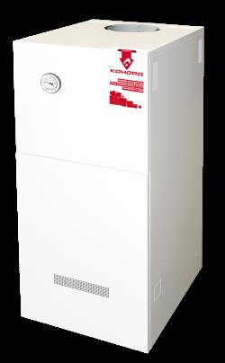 Газовый напольный котел Конорд КСц-ГВ с термогидравлической автоматикой САБК (двухконтурный)