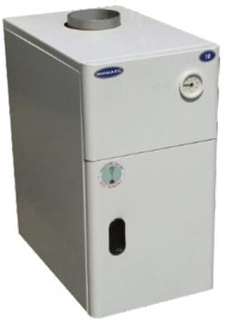 Газовый напольный котел Мимакс КСГВ-40 с отечественной автоматикой АГУ-Т-М (двухконтурный)