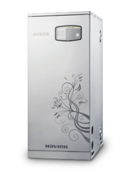 Газовый напольный котел Navien серии GST 40KN с закрытой камерой сгорания