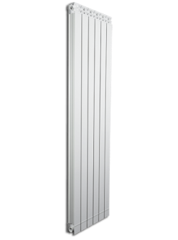 Дизайнерские алюминиевые радиаторы Fondital GARDA DUAL 80 ALETERNUM  1400