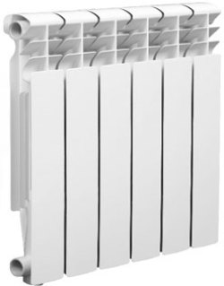 Биметаллический радиатор Оазис 500/80 10 секций
