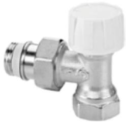 RW1238601 Термостатический клапан, Dn20 угловой