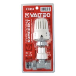 """Клапан с термостатической головкой VALTEC прямой 1/2"""""""