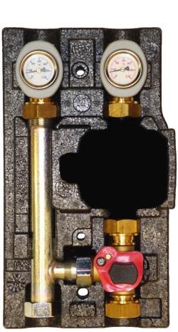 Насоснo-смесительный модуль Huch EnTEC MK DN 25 ECO ( без насоса)